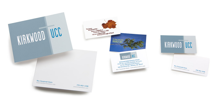 Kirkwood United Church of Christ print collateral